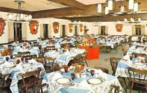 Frankenmuth Michigan Bavarian Inn Interior Vintage Postcard K38231