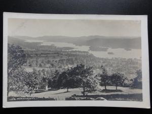 Cumbria: Windermere - Old RP Postcard