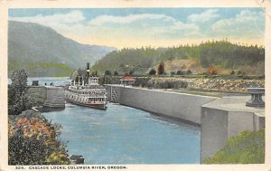Cascade Locks, Columbia River Oregon, USA Unused