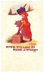 How'd you like tomake a touch?