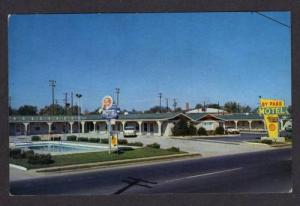 KY By Pass Motel Pool BOWLING GREEN KENTUCKY Postcard