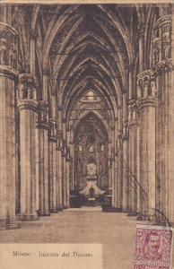 Italy Milano Interno del Duomo