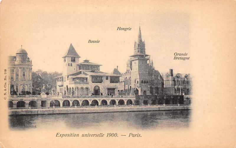 France exposition universelle 1900 paris bosnie - Office tourisme grande bretagne paris ...