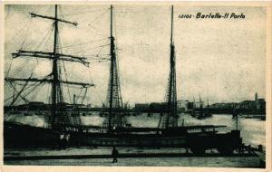 CPA AK BARLETTA il porto . ITALY (531767)