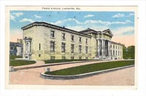 Public Library, Louisville, Kentucky, PU-1934