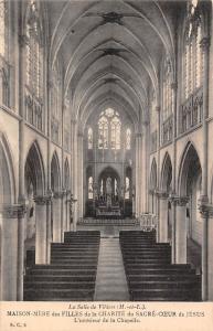 France Salle Vihiers Maison-Mere Charite Sacre-Coeur Jesus interieur Chapelle