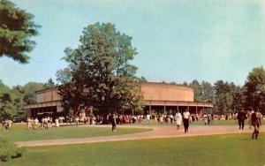 Beautiful grounds at Tanglewood in Lenox, Massachusetts Berkshire Music Center.