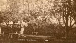 GA - Lyons, A Yard Scene