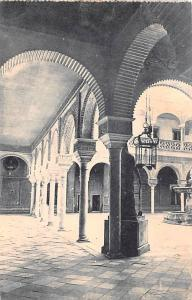Spain Old Vintage Antique Post Card Casa de Pilatos Patio Sevilla Unused