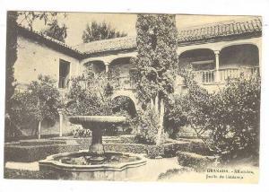 GRANADA.-Alhambra , Jardin de Lindaraja , SPAIN , 00-10s