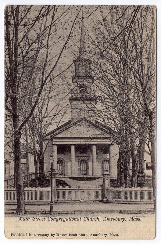 Amesbury, Mass, Main Street Congregational Church
