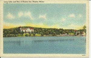 Naples, Maine, Long Lake And Bay of Naples Inn