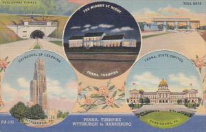 Pennsylvania Turnpike Multi View Curteich
