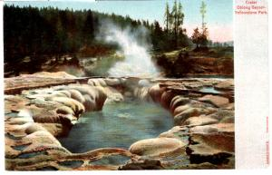 Haynes AUTOCRHOME, Crater Oblong Geyser, Yellowstone National Park