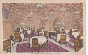New York City Hotel McAlpin The Grill Room 1918