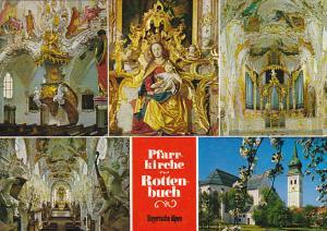 Ehemalige Stiftskirche Rottenbuch Bayerische Alpen Germany