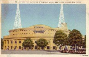 ANGELUS TEMPLE FOUR SQUARE GOSPEL LOS ANGELES, CA