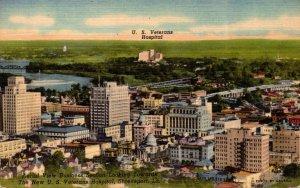 Louisiana Shreveport Business Section Aerial View Looking Towards U S Veteran...
