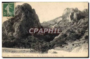 Old Postcard L'Esterel Corniche d'Or Rue St Barthelemy and St Pilon