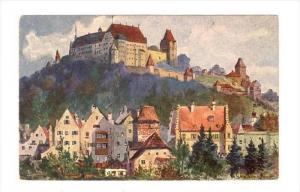 Blick Auf Burg Trausnitz, Landshut (Bavaria), Germany, 1900-1910s