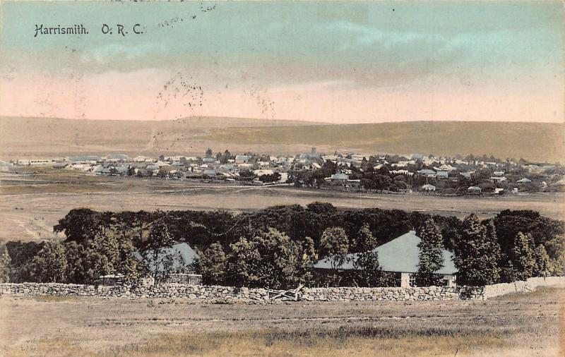 South Africa Harrismith postcard