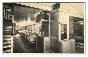 BOISE, Idaho ID ~ Waiterless Restaurant THE NEW MECHANAFE 1937 Interior Postcard