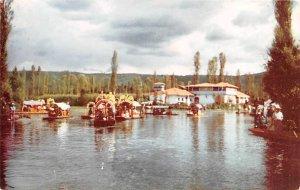 Boat Scene Mexico Tarjeta Postal Postal Used Unknown