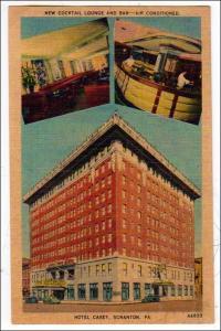 Hotel Casey, Exterior & Interior Views. Scranton PA