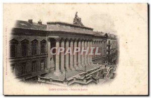 Saint Etienne - Courthouse - Old Postcard