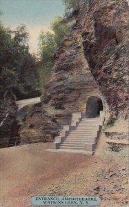 New York Watknis Glen Entrance Amphitheatre
