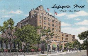 ATLANTIC CITY , New Jersey , 1951 ; Lafayette Hotel