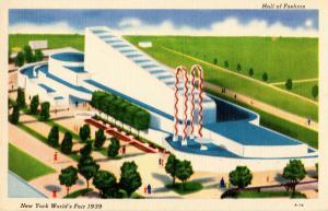 NY - 1939 New York World's Fair. Hall of Fashion