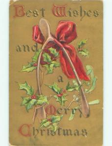 Divided-Back CHRISTMAS SCENE Great Postcard W9879