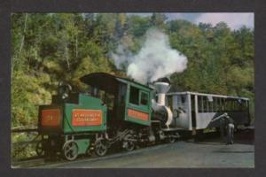 NH Cog Train Mt Washington NEW HAMPSHIRE Postcard