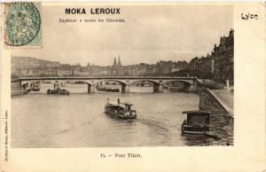 CPA LYON Pont Tilsitt (442820)