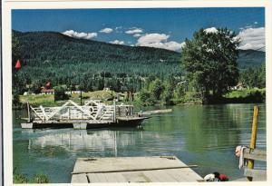 Cable Car Ferry, LITTLE FORT, British Columbia, Canada, 50-70´