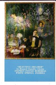 Painting by Howard Chandler Chrisity, Beautiful Dreams  Stephen Foster Museum...