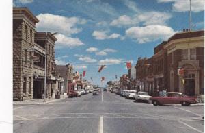 Street view , FORT MACLEOD , Alberta , Canada , 1960-70s