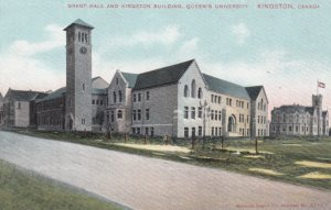 KINGSTON, Ontario, Canada, 1900-10s; Grant Hall & Kingston Building, Queen's ...