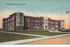 GARY, Indiana, 1900-1910's; Froebel School