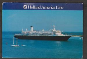 Cruise Ship Nieuw Amsterdam Of Holland America Line - Unused Corner Wear