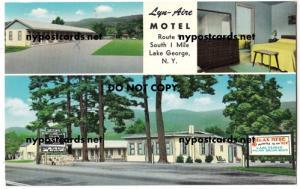 Lyn-Aire Motel, Lake George NY