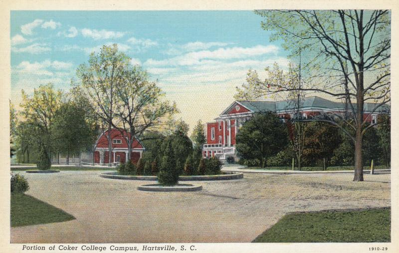 HARTSVILLE , South Carolina , 1910-30s ; Campus , Coker College