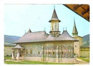 Manastirea, Sucevita, Romania, PU-1972