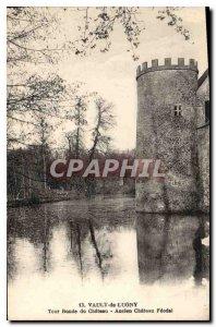 Postcard Old Vault Lugny Tour Ronde du Chateau