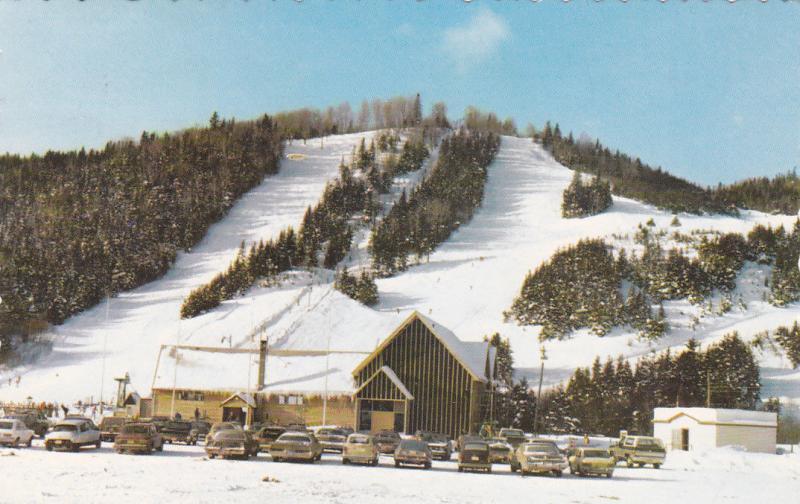 MATANE, Quebec, Canada, 1960's; The Ski Center Station Mont Castor