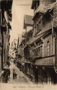 CPA LISIEUX - Rue aux Fevres (276568)