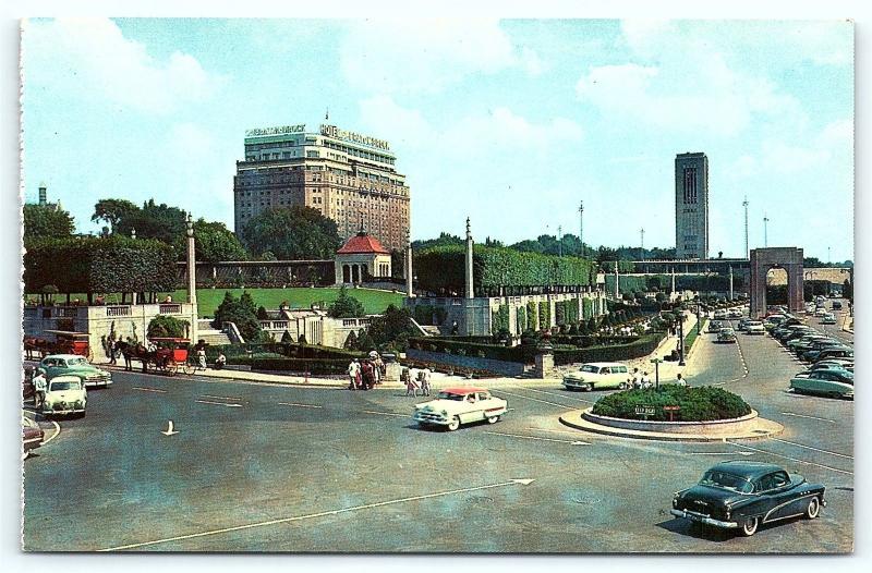 Postcard Canada Ontario Niagara Falls Oakes Garden Theatre 1950\'s ...