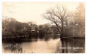New Hampshire  Milford ,  Bouhegan River, Tower, Bridge ,  RPC