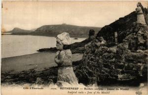 CPA  Cote d'Emeraude - Rotheneuf-  Rochers sculptés- Jeanne du Minihil  (584333)